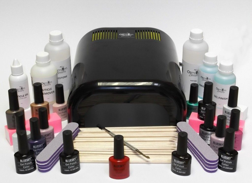 Professional UV Gel Nail Kit Nail kit, Shellac nail kit