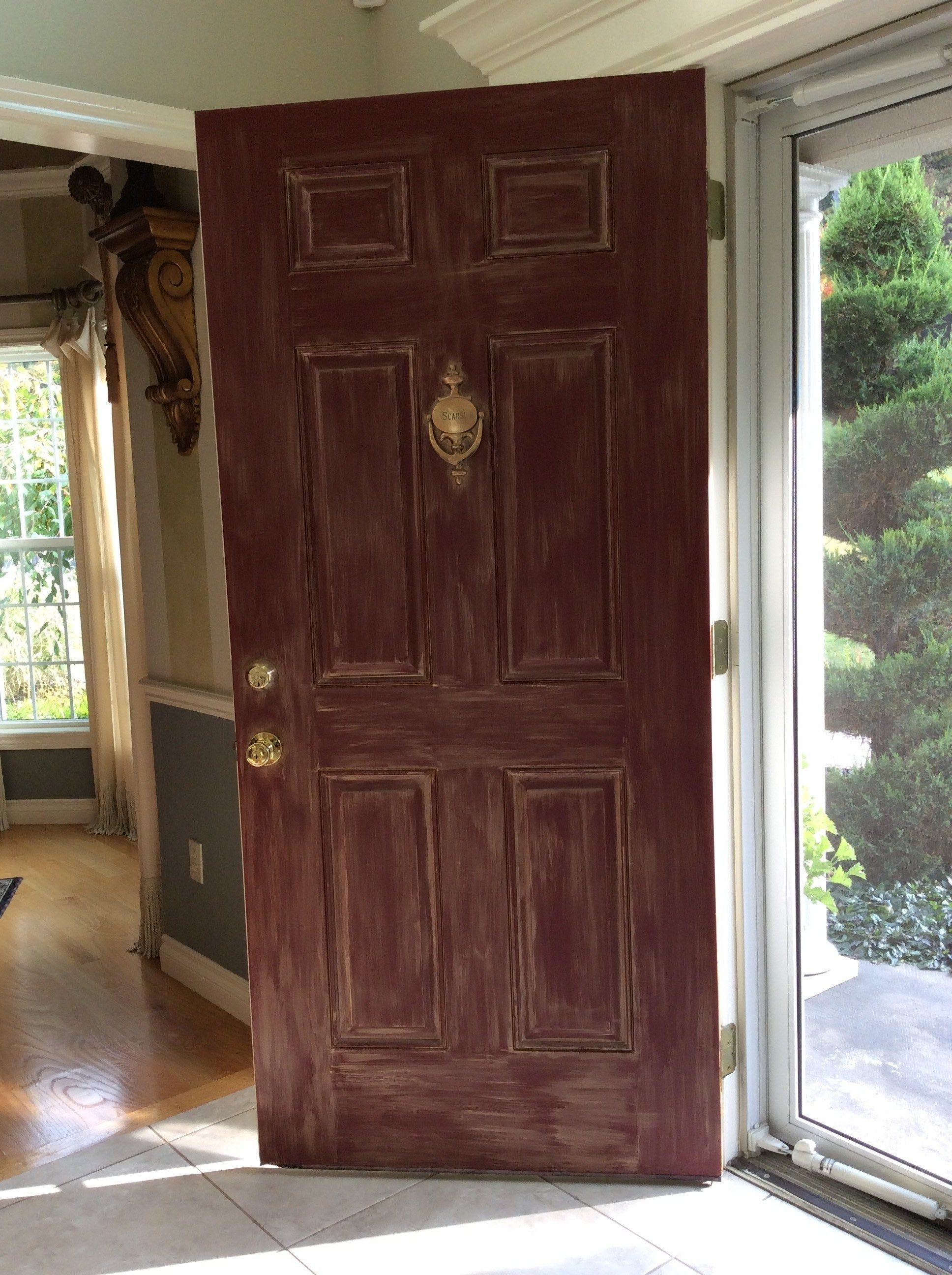 Designer Amys Awesome Diy Front Door Remodel Houseofbrightideas
