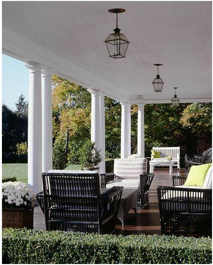Modern Homes Front And Back: Beautiful Porch/patio/verandah Inspiration