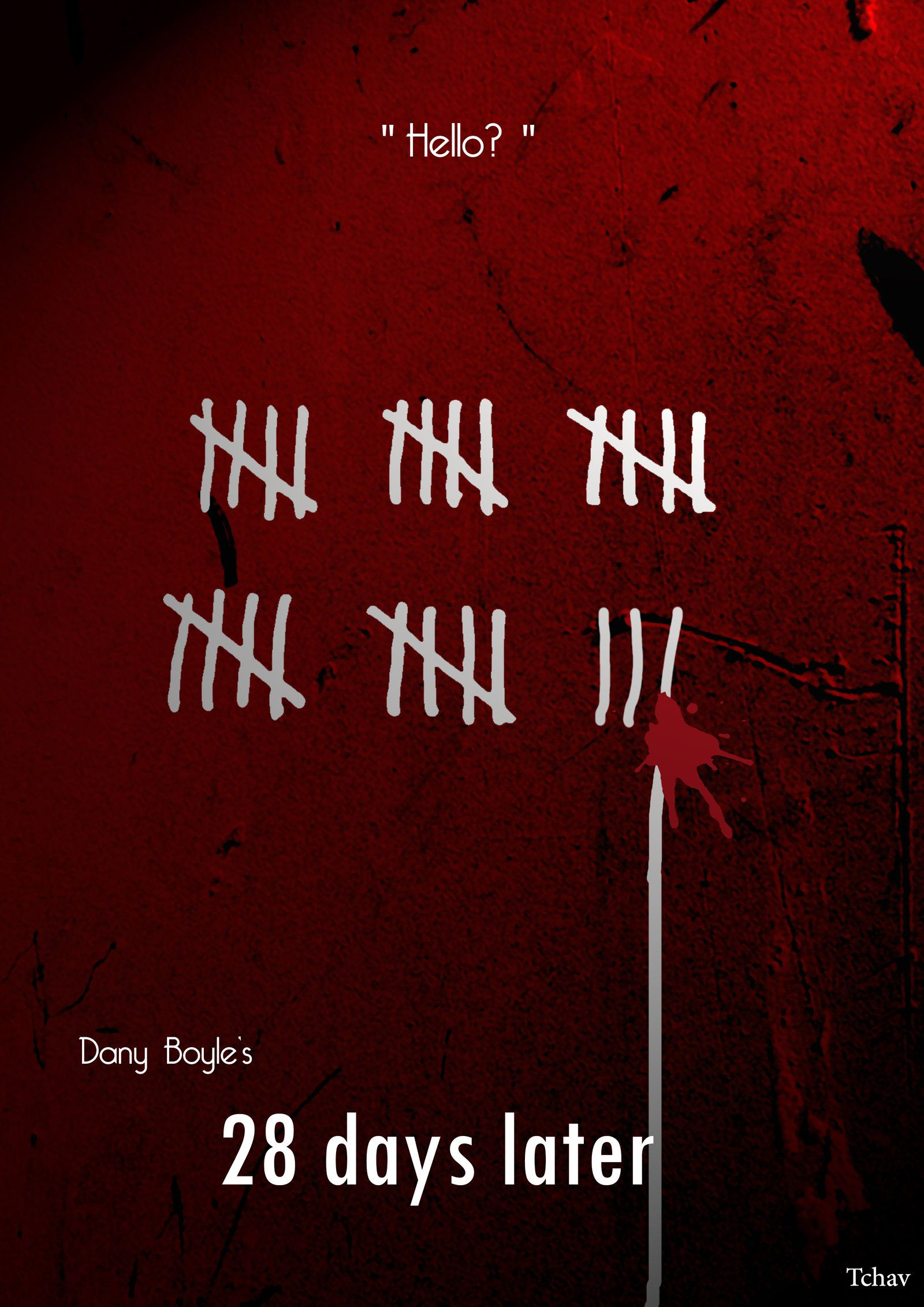 28 Days Later Minimalist Poster By Tchavdeviantartcom On Imo Z10 Fortune Deviantart