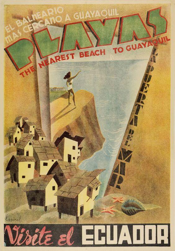 Vintage Travel Posters Of Latin America — My Latin Life #latinamericatravel