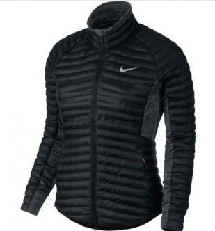 official photos 19465 c257d La chaqueta de golf Nike Aeroloft Poly-Filled para mujer dispone de  innovadoras perforaciones y de un panel frontal de aislamiento para ofrecer  una ...