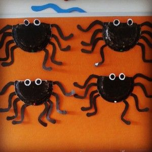 paper plate spider craft. Daycare CraftsPreschool ... & paper plate spider craft | Toddler Activity | Pinterest | Craft ...