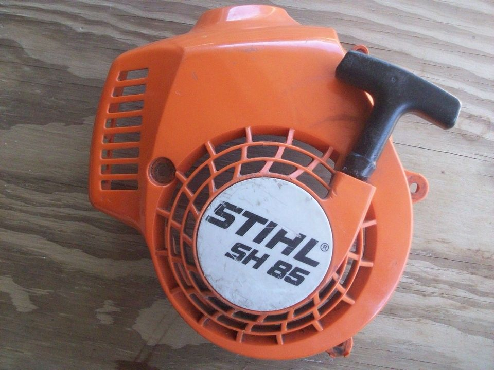 USED STIHL SH 85 LEAF BLOWER STARTER RECOIL ASSEMBLY WILL FIT OTHERS