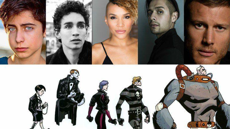 Netflix S The Umbrella Academy Cast Adds Five Super