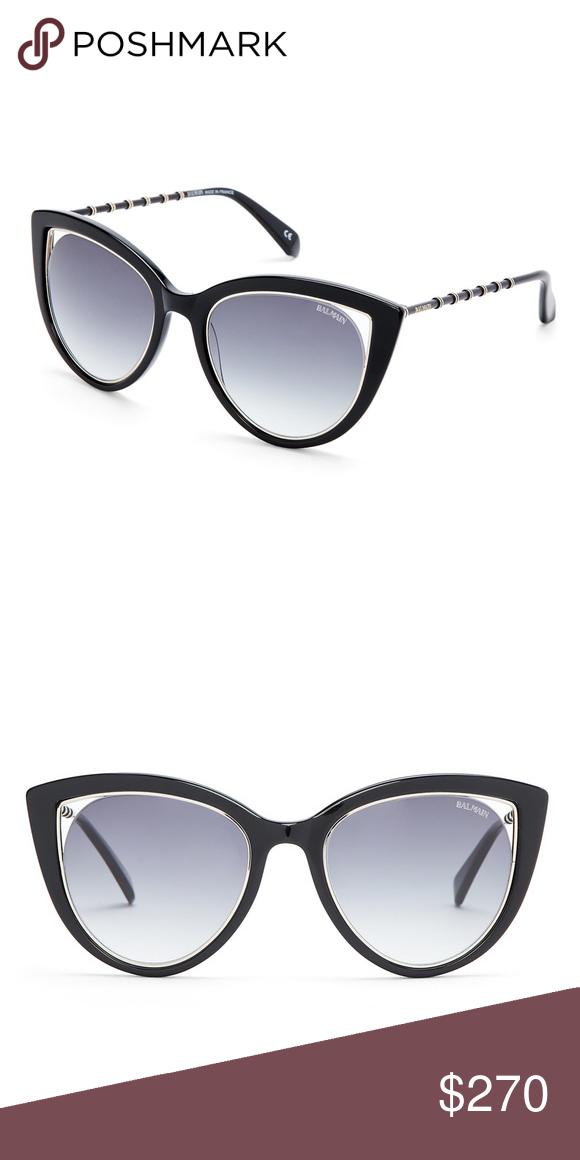 e1c54a27d36e Balmain Sunglasses Glossy black rims