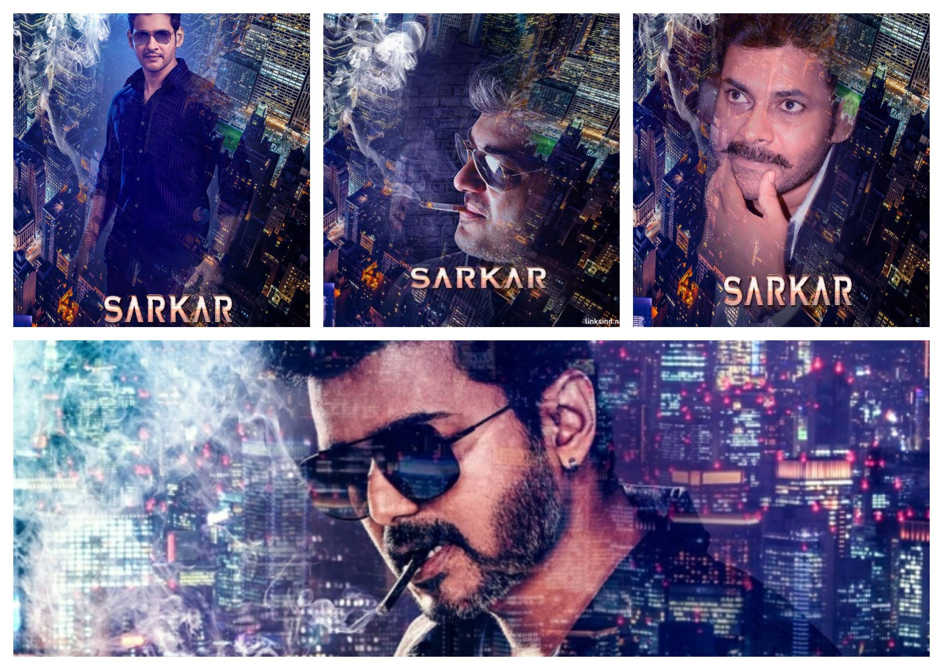 Design your name as Sarkar Poster | LinksInd Movie Font