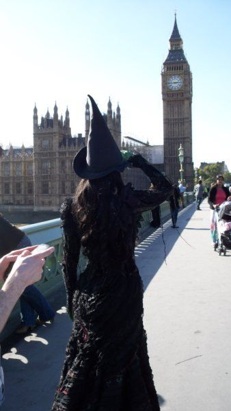 Elphaba in the UK  #WickedUK Just went to see this on June 6... Very important day