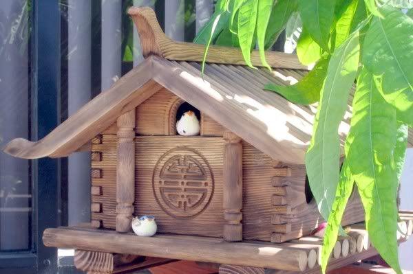 Japanese Style Birdhouses Beautiful Home Gardens Bird Houses