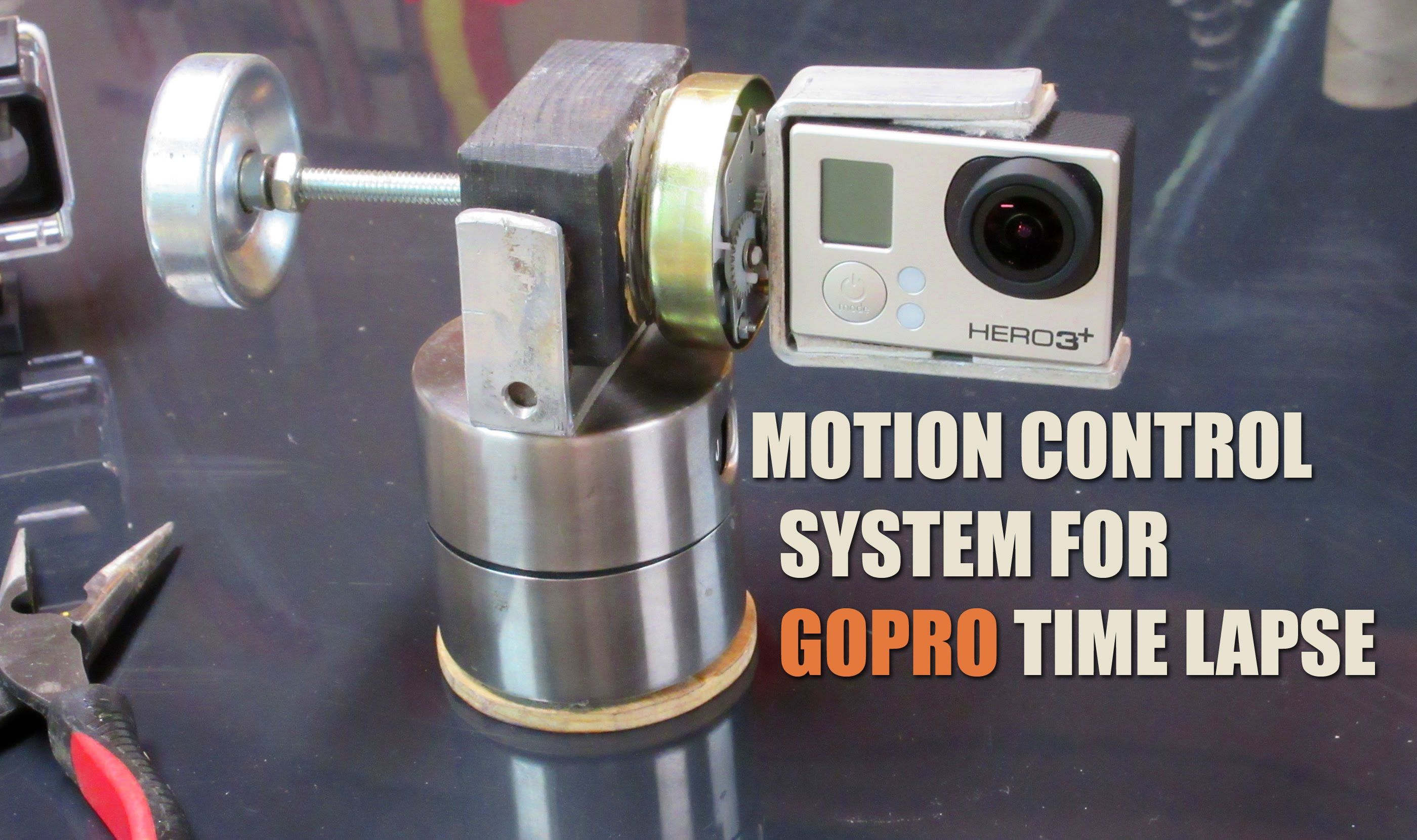 Diy Motion Control System For Gopro Time Lapse Control System