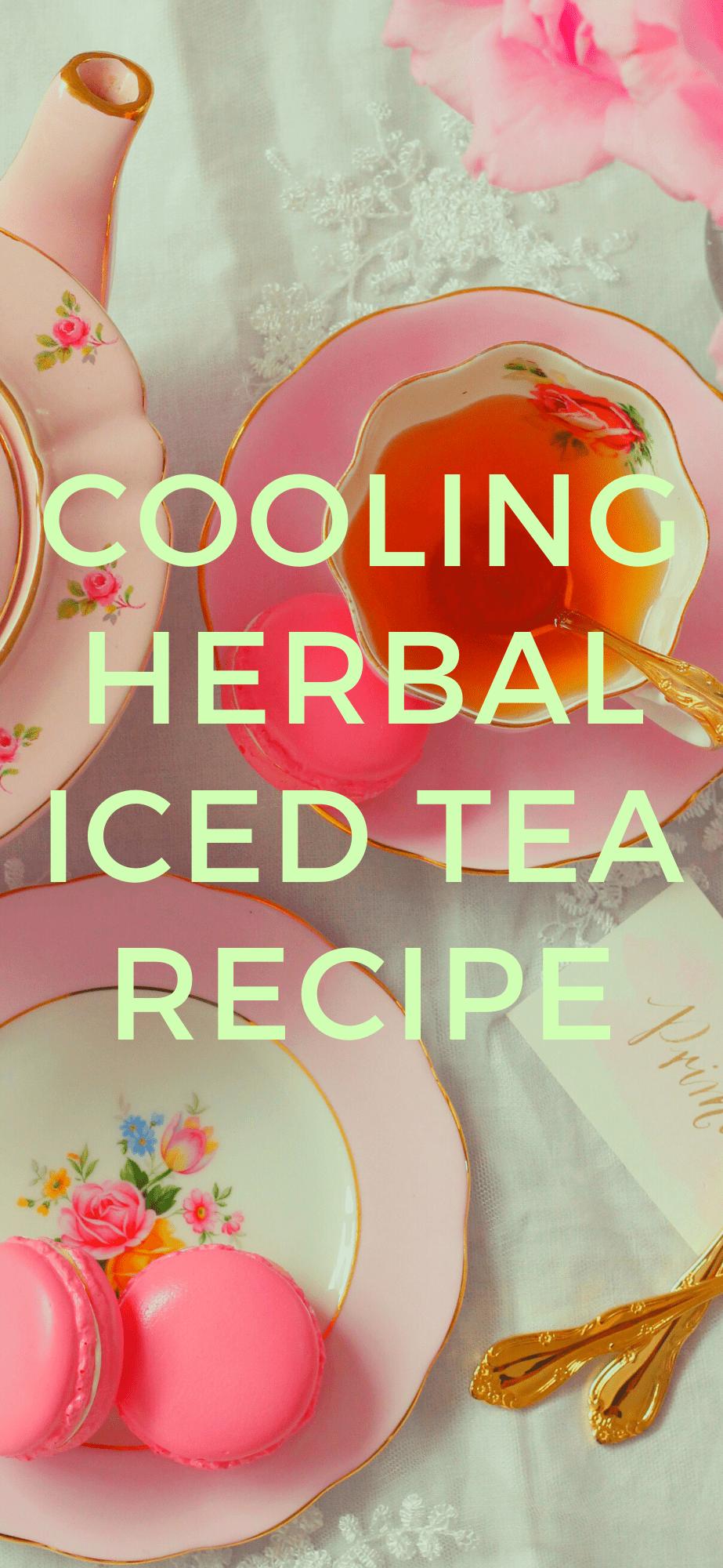 Photo of Cooling Herbal Iced Tea  The Herbalist Homemaker Herbal Tea herbal tea benefits