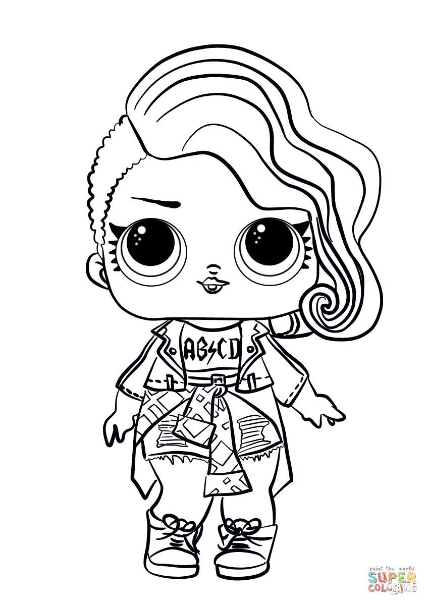 Lol Doll Coloring Pages Foxy Unicorn Coloring Pages Cute Coloring Pages Free Printable Coloring Pages