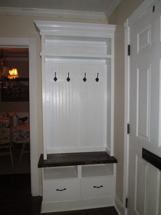 17 Diy Mudroom Amp Entryway Storage Ideas For Very Small