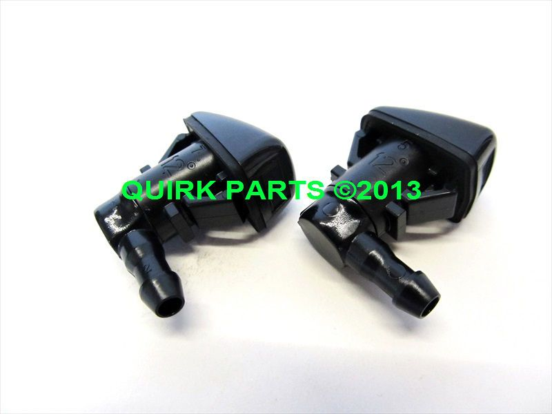 Ford Edge Lincoln Mkx Rh Lh Windshield Washer Jet Nozzle Set Oem
