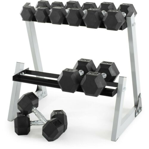 NEW Weider 15 Lb Dumbbells Pair Set Rubber Coated Hex Weights Dumbell 15 Pounds