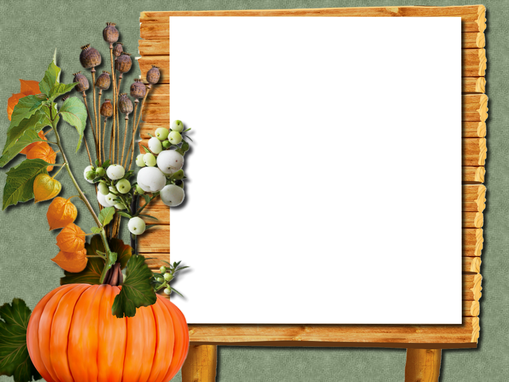 Autumn Frame Png Fall Harvest Artwork My Pictures