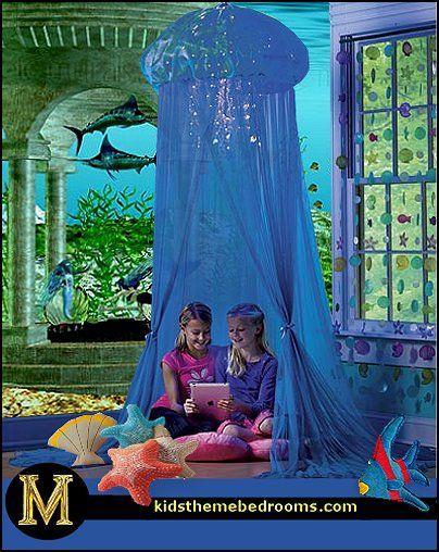 Decorating theme bedrooms - Maries Manor underwater bedroom ideas