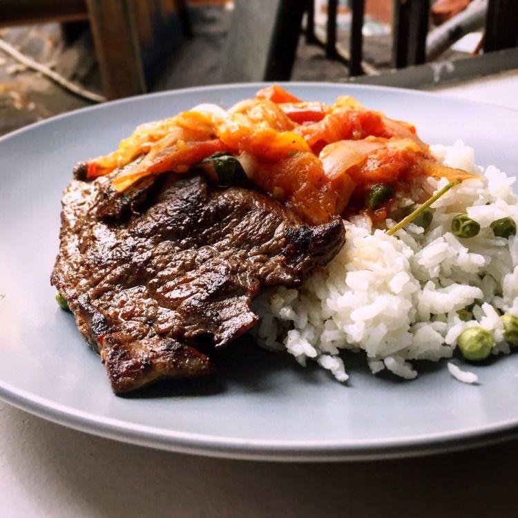 wutzidora: 'Bistec encebollado ' on #kitchenbowl