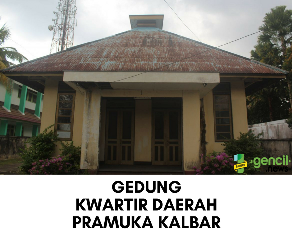 Gedung Kwartir Daerah Gerakan Pramuka Kalimantan Barat ini