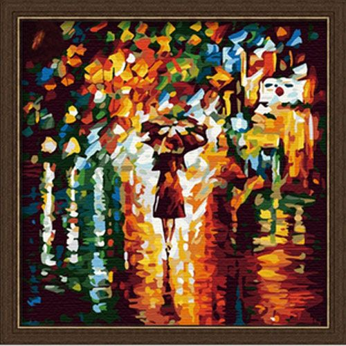 Woman With Umbrella Monet Painting Landscape Paint By