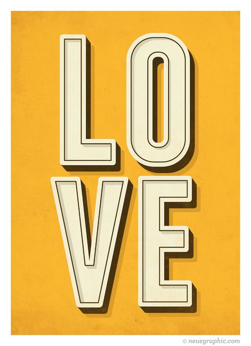 love. plain and simple | Typography | Pinterest | Typographic poster ...