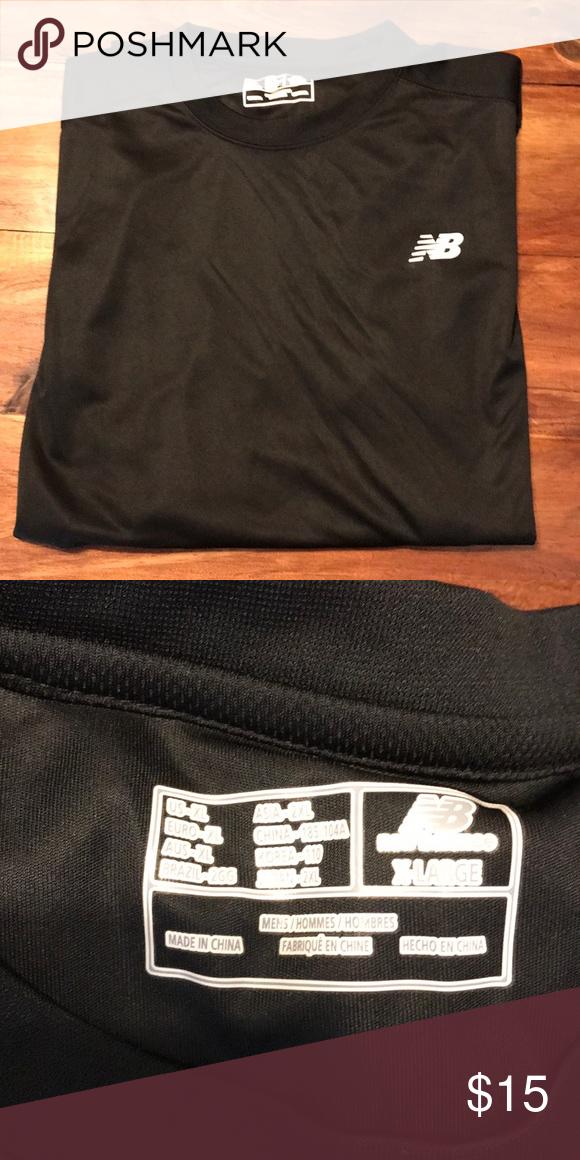 e40ff5c40bace Long Sleeve Dry Fit New Balance Long Sleeve Black Dry Fit T-Shirt New  Balance Shirts Tees - Long Sleeve