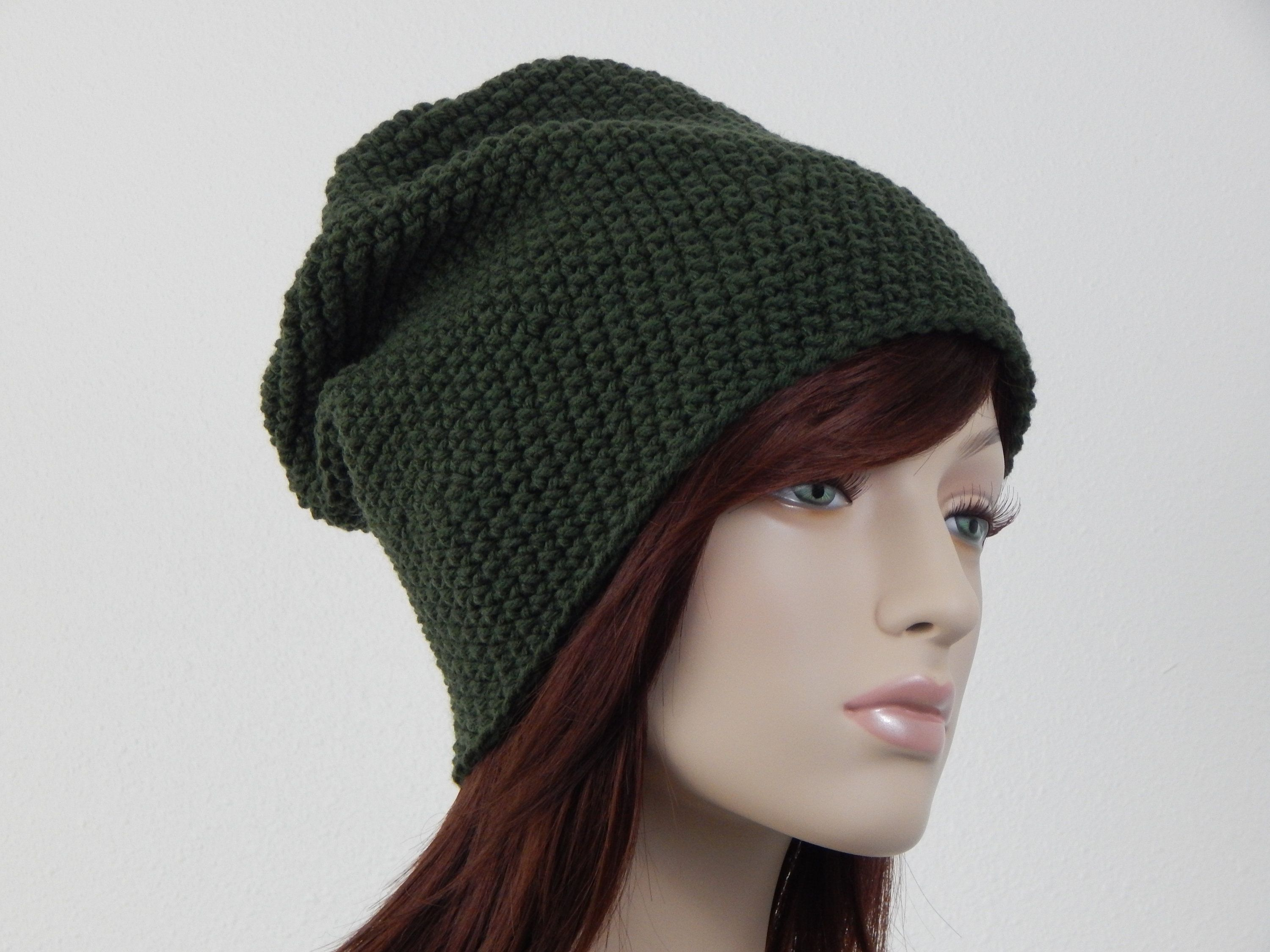 7e08abfe187 Forest Green Slouch Hat