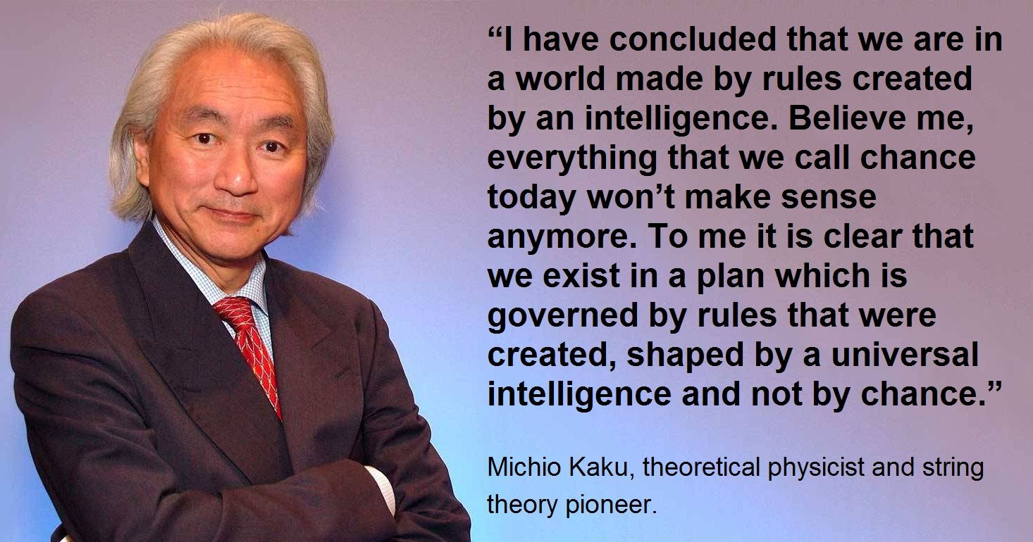 Michio Kaku On God