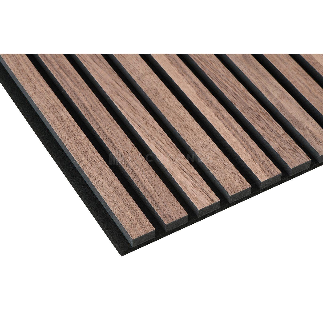 Acupanel Natural Walnut Acoustic Slat Wood Wall Panels   Wood ...