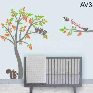 Vinilos decorativos infantiles arboles arboles - Vinilos arboles decorativos ...
