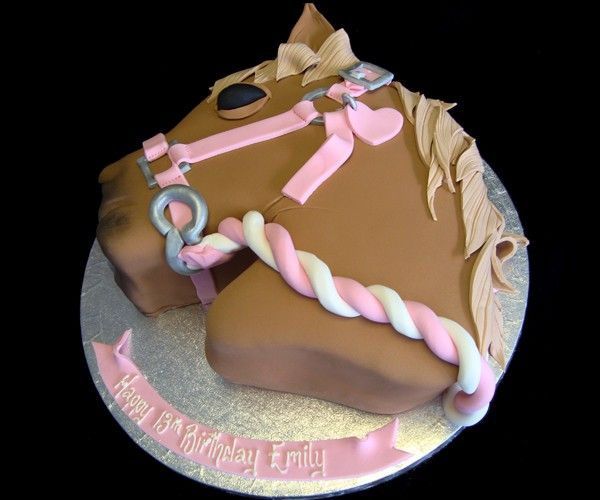 Pony Horse girls birthday cake T49 Animals Nature Pinterest