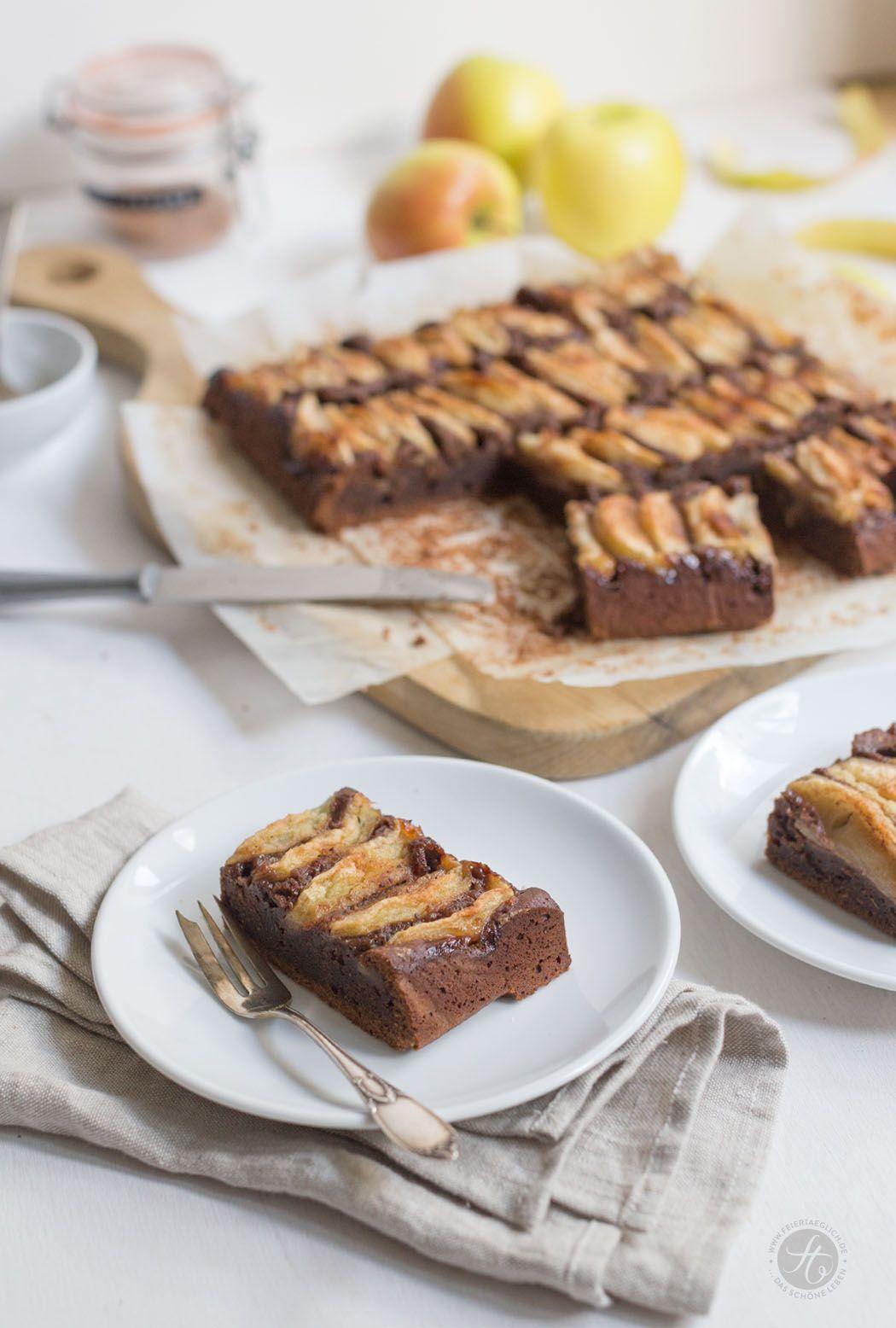 Schoko-Chai-Apfelkuchen, Rezept, große Apfelkuchenliebe zum #Apfelbäckchen Blogevent