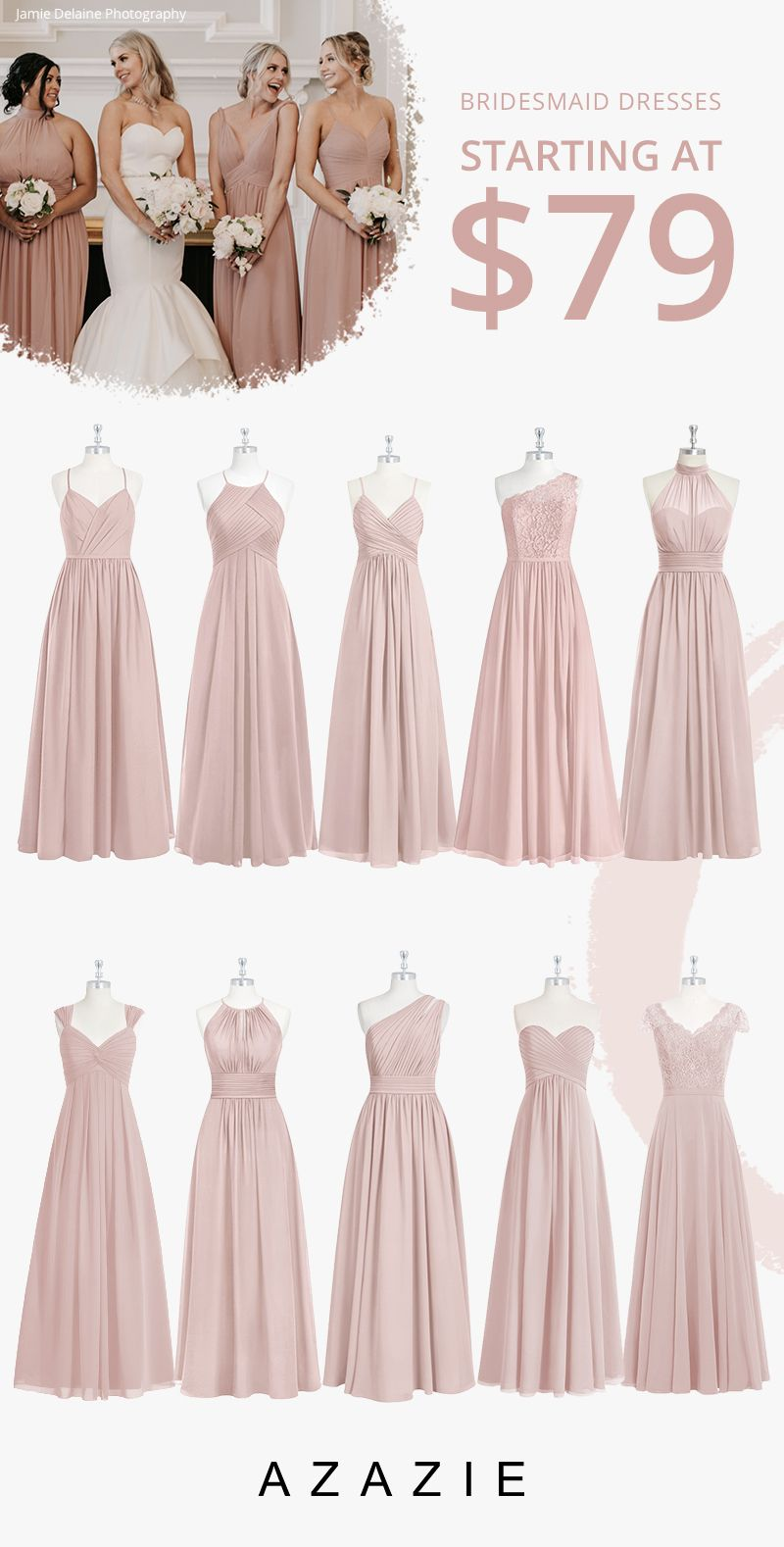 Dusty Rose Bridesmaid Dresses At Affordable Prices In 2020 Dusty Rose Bridesmaid Dresses Rose Bridesmaid Dresses Fall Bridesmaid Dresses