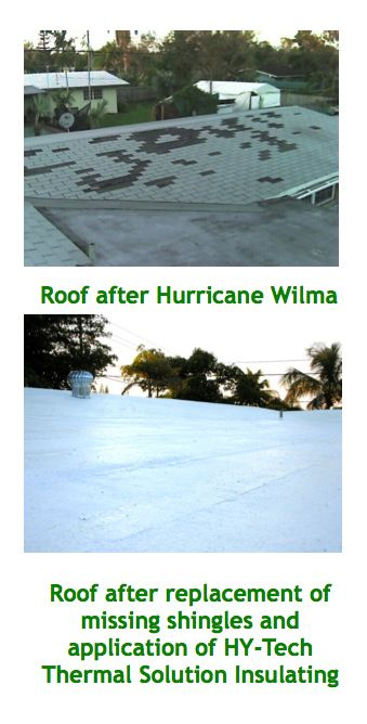 Roof Repair After Hurricane Wilma Damage – Hy-Tech