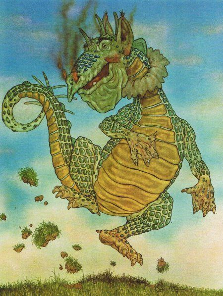 Michael Hague: Illustrations for Kenneth Graham´s `The Reluctant Dragon´