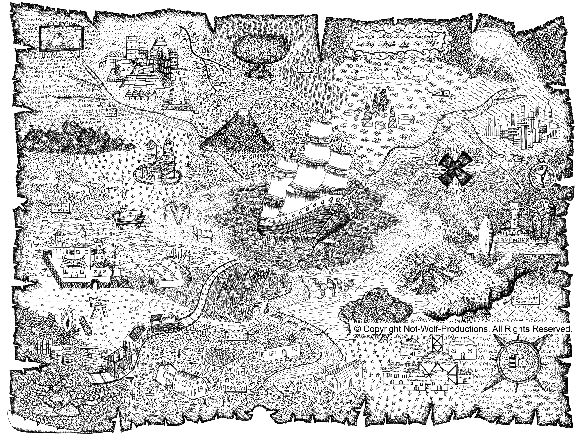 - Download Or Print This Amazing Coloring Page: Printable Treasure