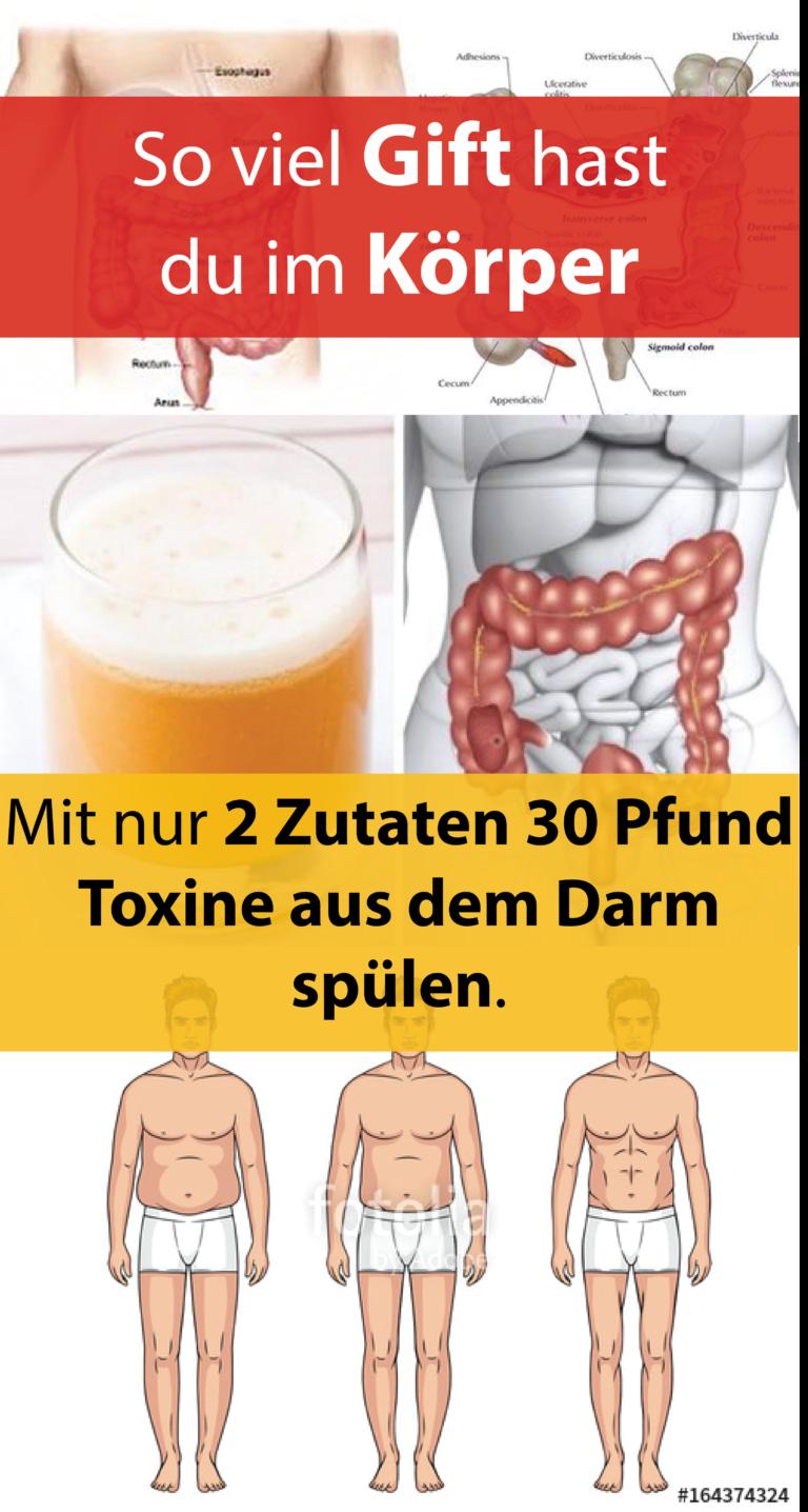 Toxine im darm