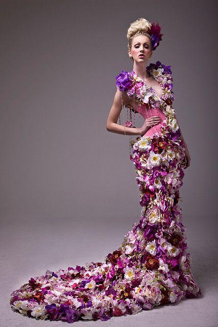 flower dress Šaty Pro Rozhazovačky Květin 66b966d8925