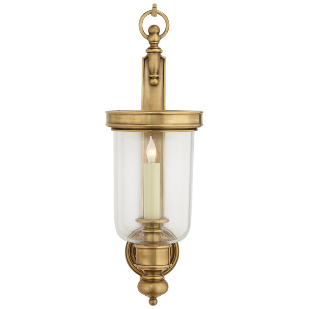 Georgian Small Hurricane Wall Sconce In 2020 Sconces Wall