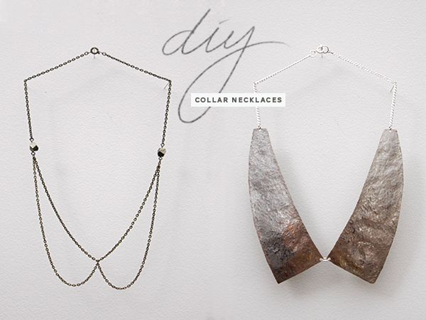 Do it yourself collar necklaces i like the chain one diy fun diy fashion accessories solutioingenieria Image collections