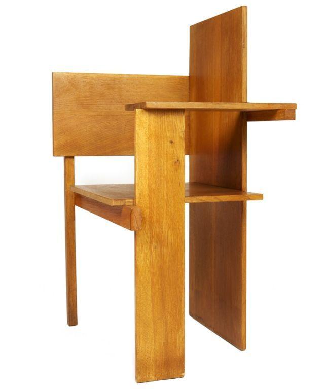 """Berlin Chair"" by Gerrit Rietveld vanguardia"