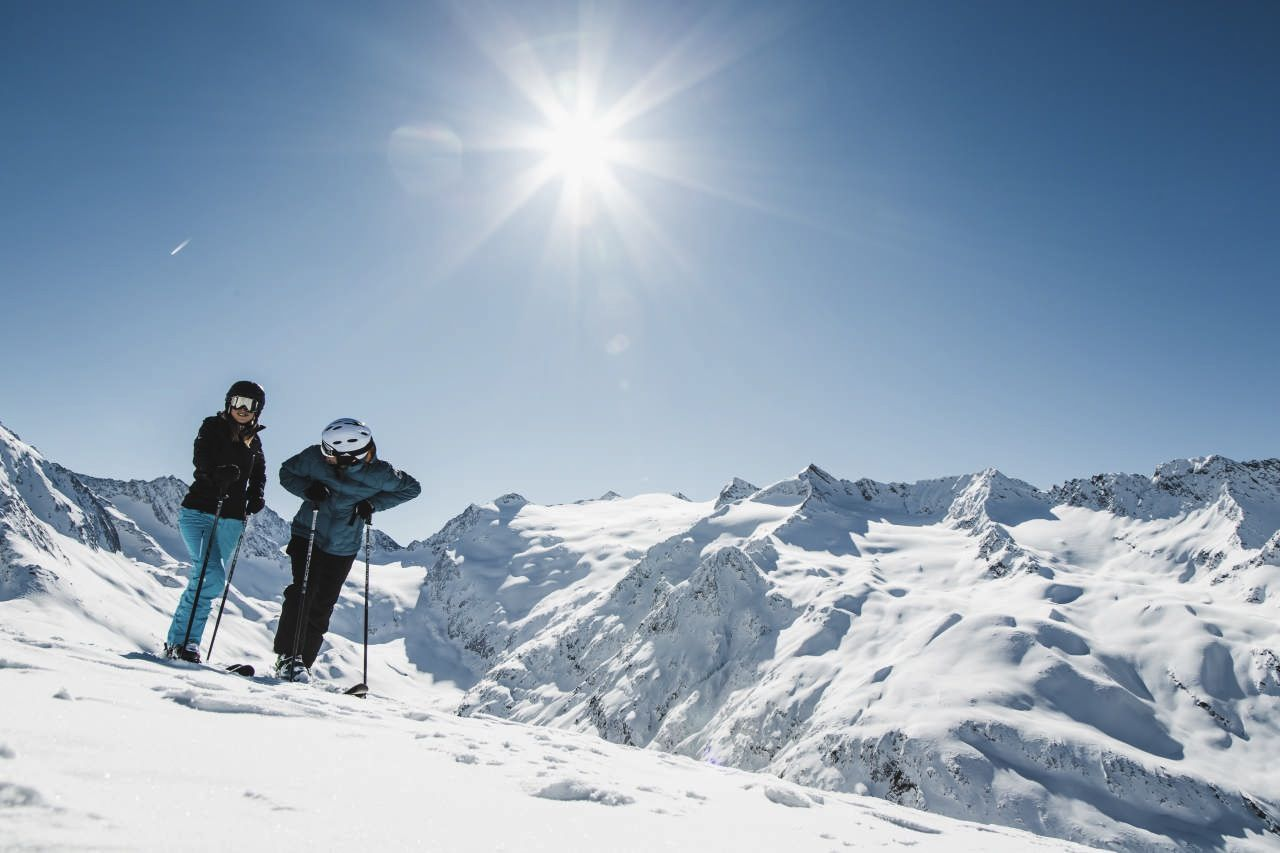 Skiing in Austria/Sölden - one of the most famous ski areas of the world!