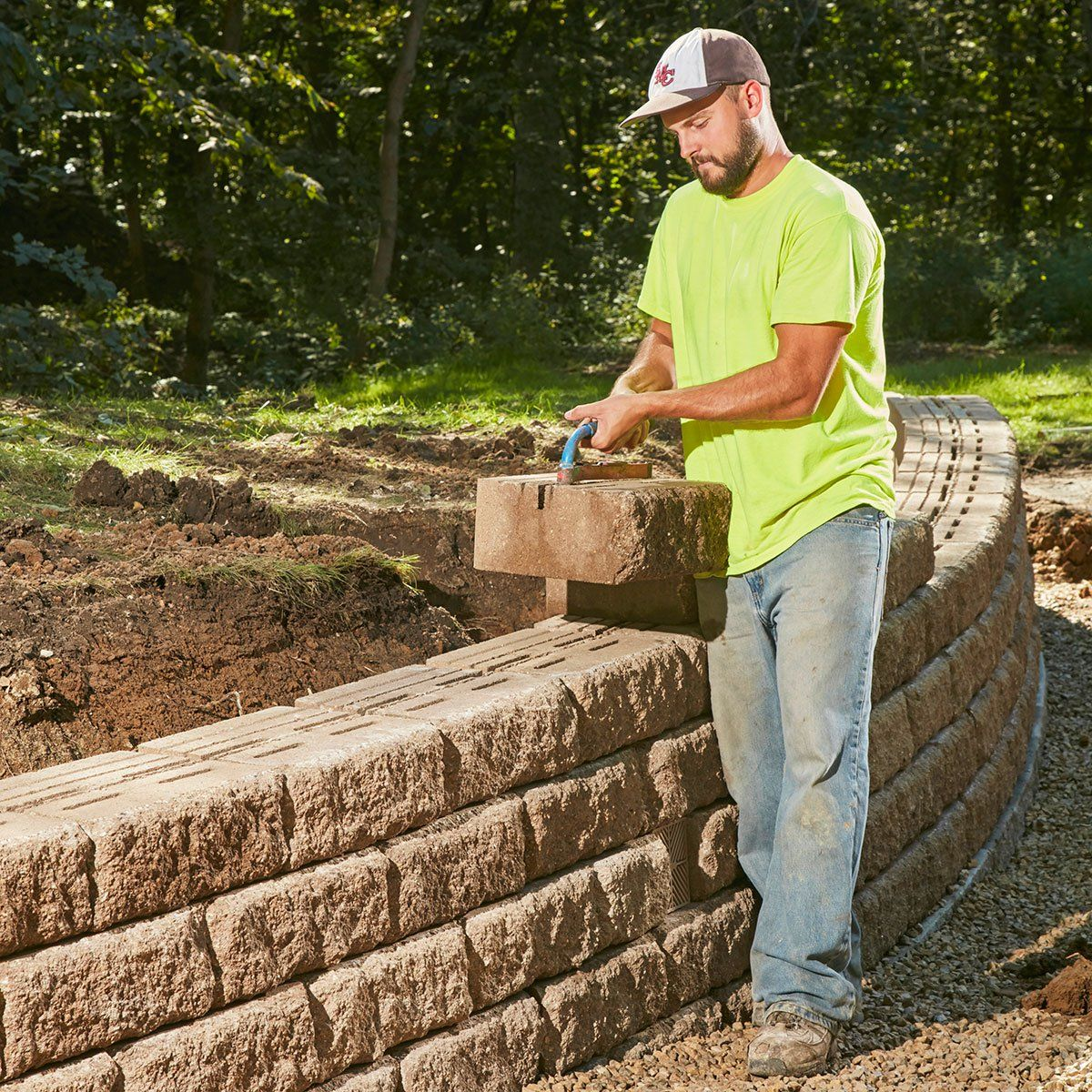 Retaining Wall Ideas For Slopes