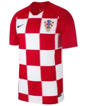 Nike Men S Croatia National Team Home Stadium Jersey Red Xl Sports Shirts Football Shirts Nike Men