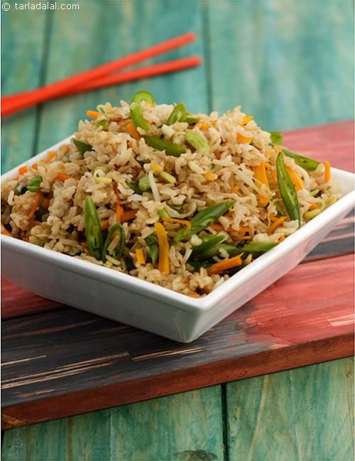 Chinese Fried Rice, rice is the cereal that diabetics are advised to avoid. Here's a simple and guilt free way to include rice in your diet…. All you have to do is add plenty of vegetables to the rice dish and use minimal oil.