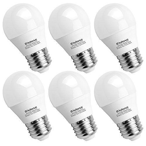 illuminazione Kakanuo Lampadina LED E27 G45/A15 4W Bianco