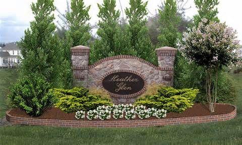 landscape sign idea in 2019 lawn