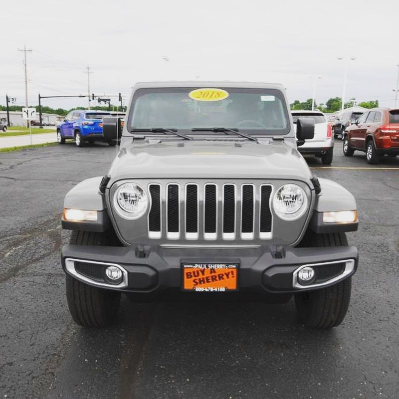 2018 Jeep Wrangler Unlimited Sahara With Gps Navigation 4x4