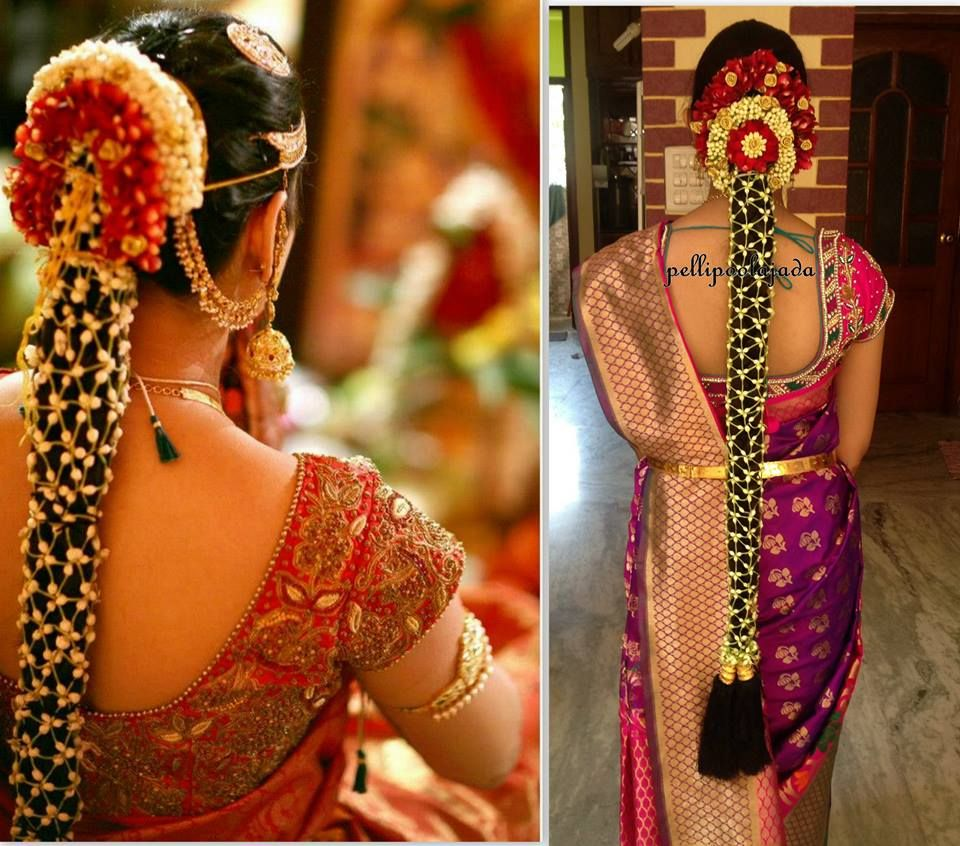 Https Www Facebook Com Pellipoolajada Photos A 394140370643025 90601 39412985397 Indian Bridal Hairstyles Indian Bride Hairstyle South Indian Bride Hairstyle