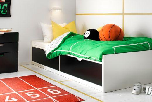 Ikea Lits 1 Personne Chambre Lina Lit Simple Ikea Deco